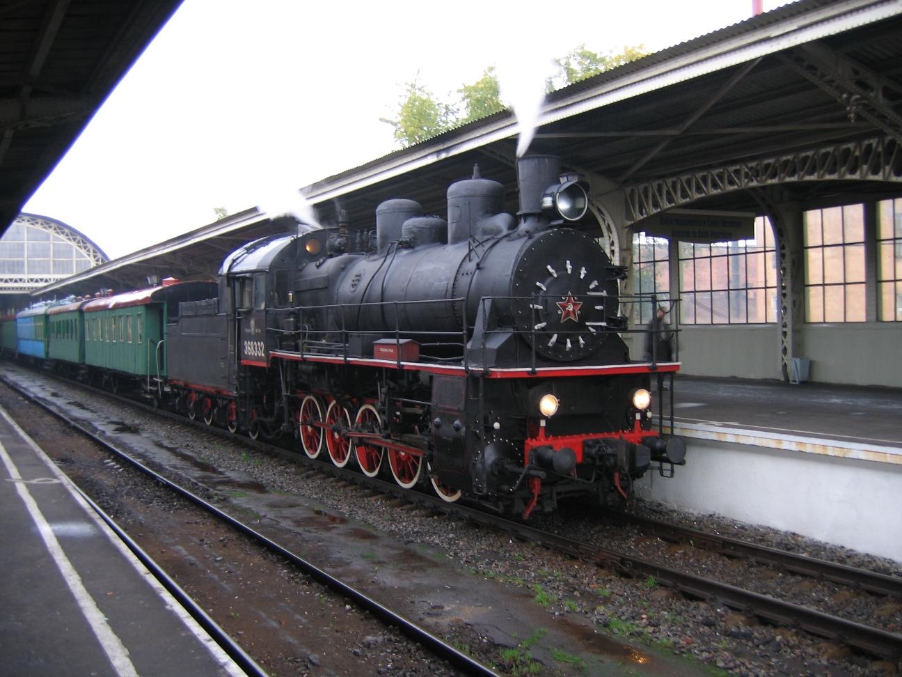 вокзале фото витебском паровоза на